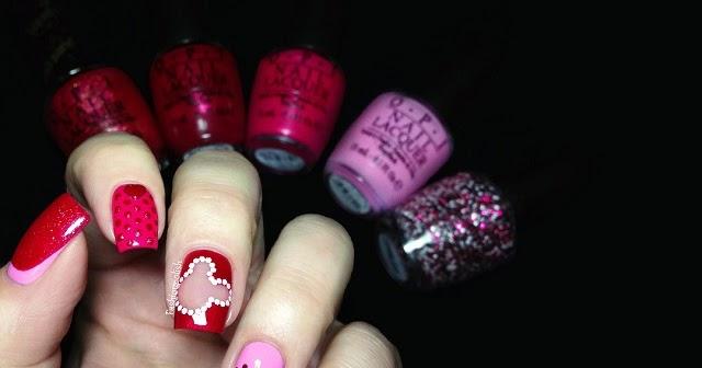Minnie's Closet OPI Minnie Couture Nail Art!