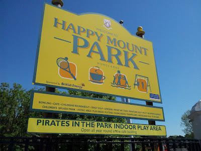 Morecambe, Happy Mount Park, Family Day out in the North West
