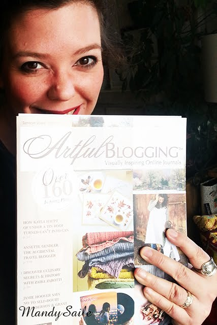 WOHOOOOOOO I was in the Winter 2017 issue of Artful Blogging