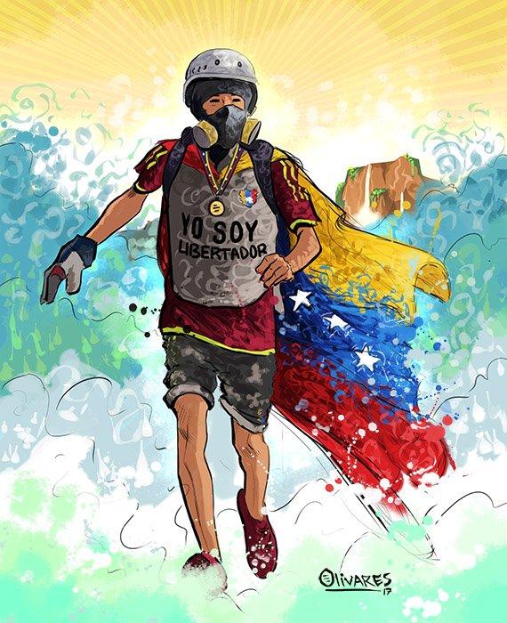 En homenaje a nuestros héroes caídos y a nuestros presos políticos!!!