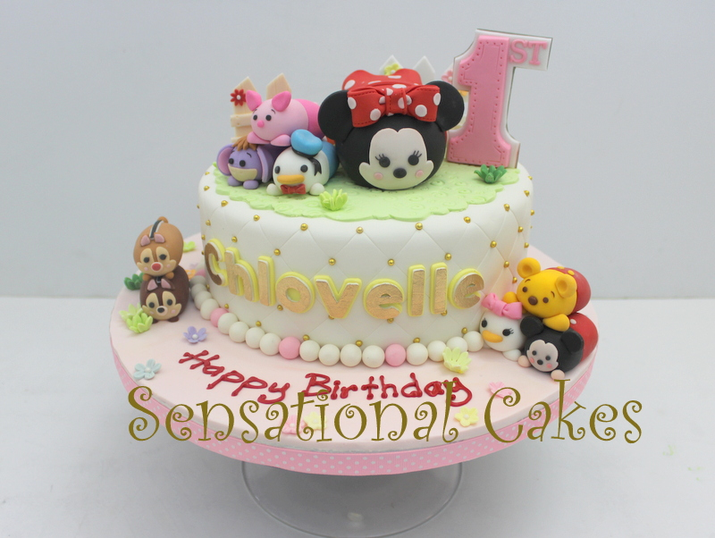 The Sensational Cakes SWEET TSUM TSUM THEME 3D CUSTOMIZED FIGURINES