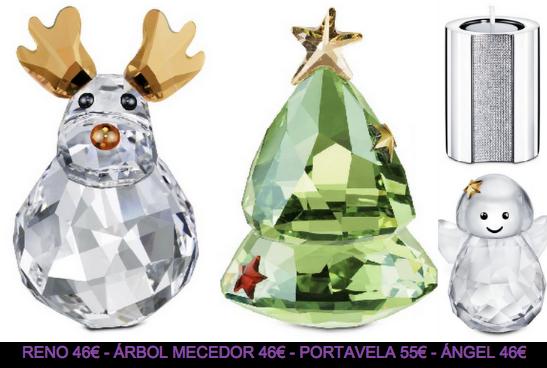 Godustyle joyas swarovski 2012 colecci n navidad 2011 - Figuras de cristal swarovski ...