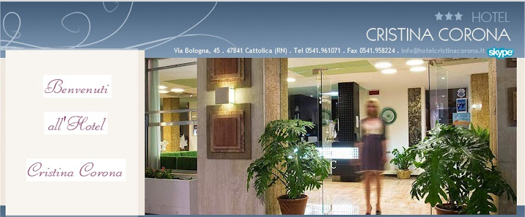 Hotel Cristina Corona *** stelle Cattolica