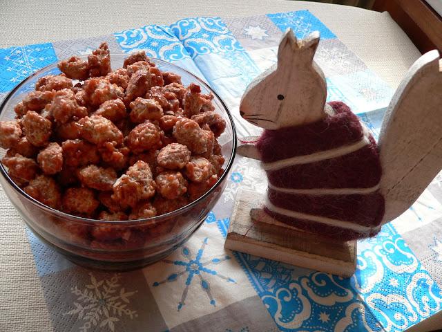 selbstgemacht lecker Weihnachten Eichhörnchen Weihnachtszeit Advent