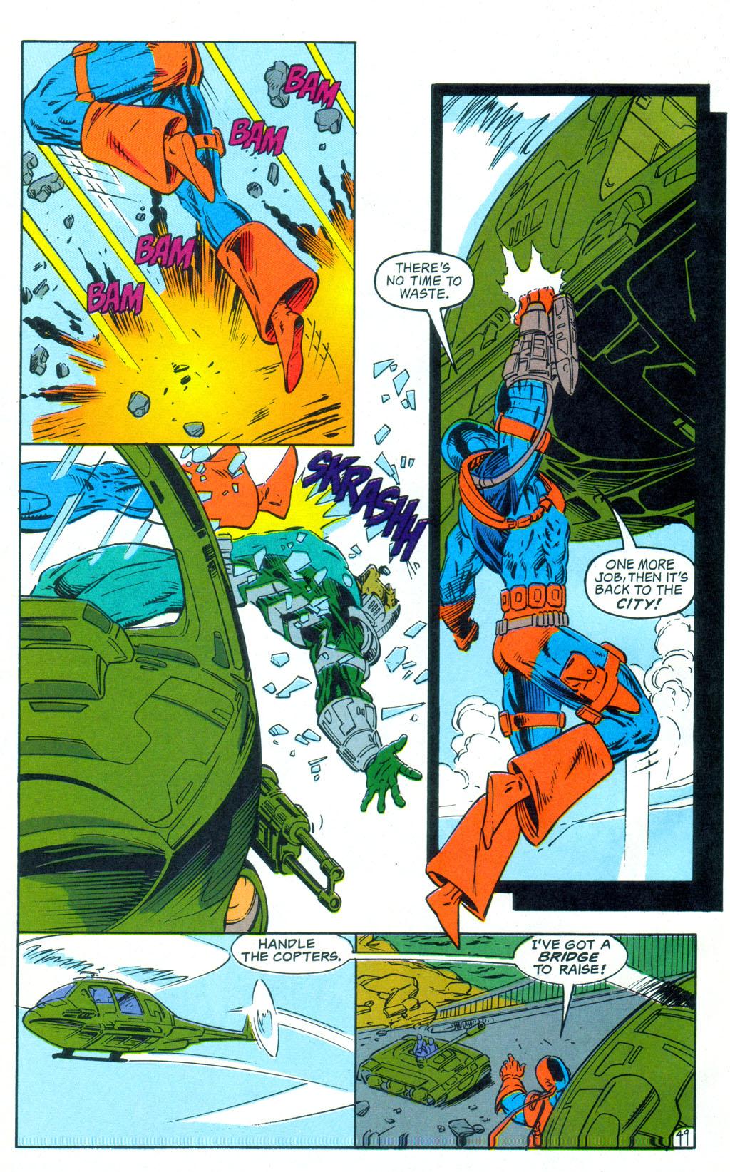 Deathstroke (1991) Annual 3 #3 - English 50