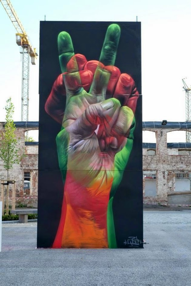 The Best Examples Of Street Art In 2012 And 2013 - by CASE, Wittenberg-Baden-Württemberg