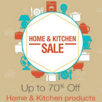 ( LIVE )Amazon Home & Kitchen Sale upto 70% off  :buytoearn