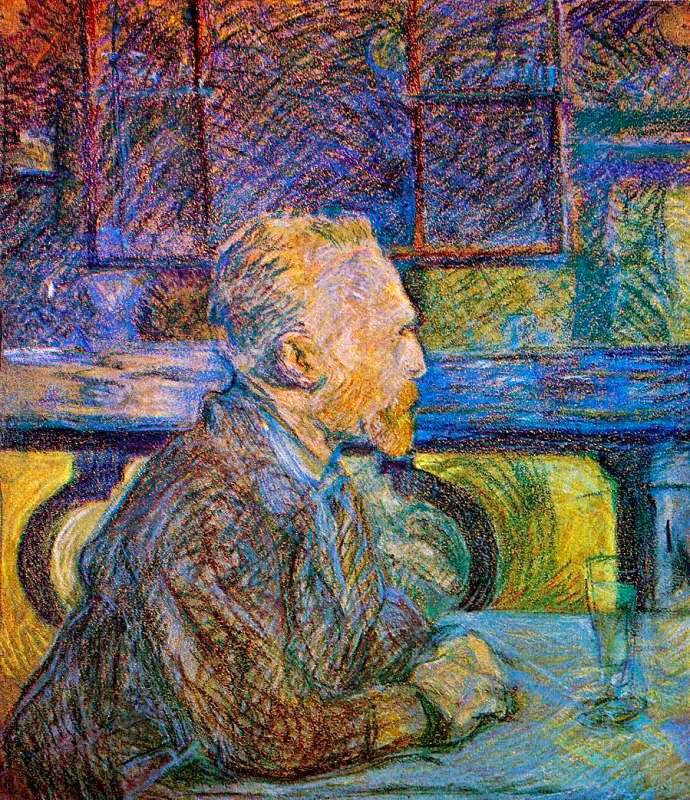Henri de Toulouse-Lautrec, Portrait de Vincent van Gogh (1887)