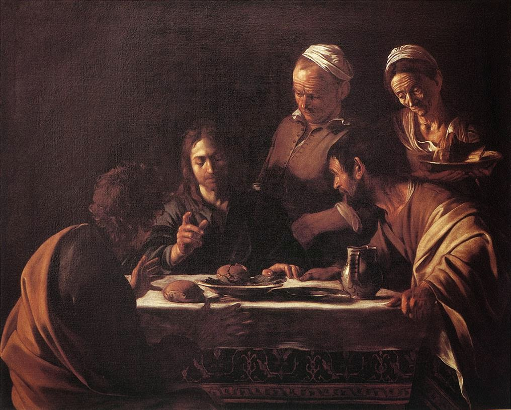 The Road to Emmaus (Caravaggio, 1606)