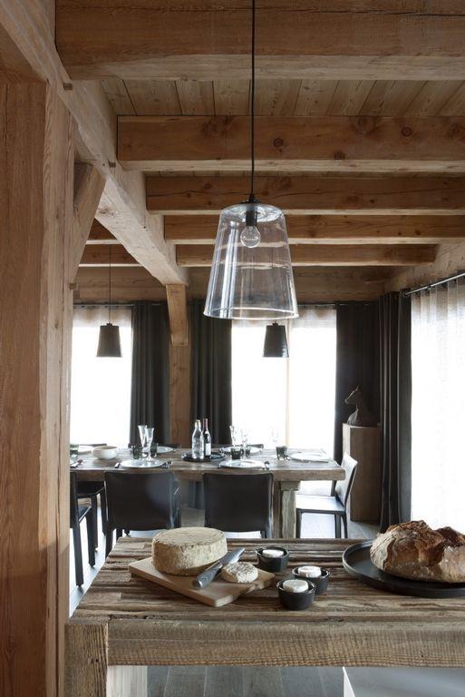 Ceramiche appia nuova una casa al mare no no in montagna - Deco chalet hout ...