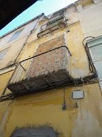 edificio histórico en ruina, calle Pito 4