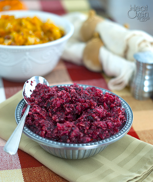 Cranberry Orange Relish