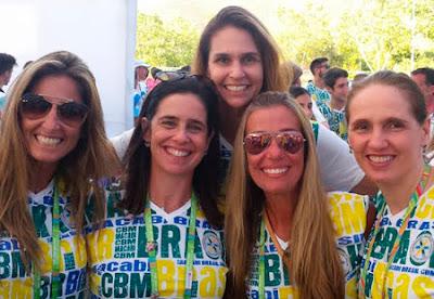 Nos Jogos Macabeus do Chile  brasileiros conquistam medalhas