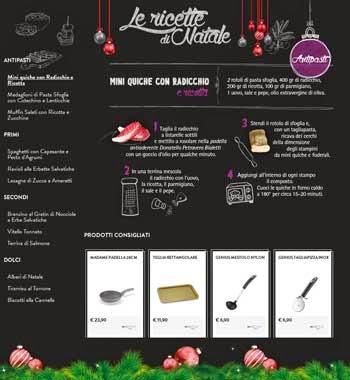 bialetti ricette di Natale