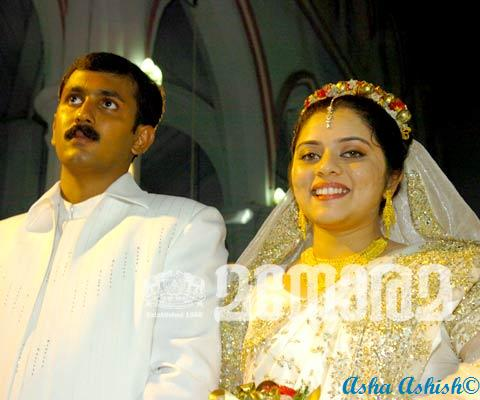 Malayalam Comedy Actor Jagathy Sreekumar Daughter Wedding Photos