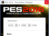 Cara Merubah Resolusi Tampilan PES 2016