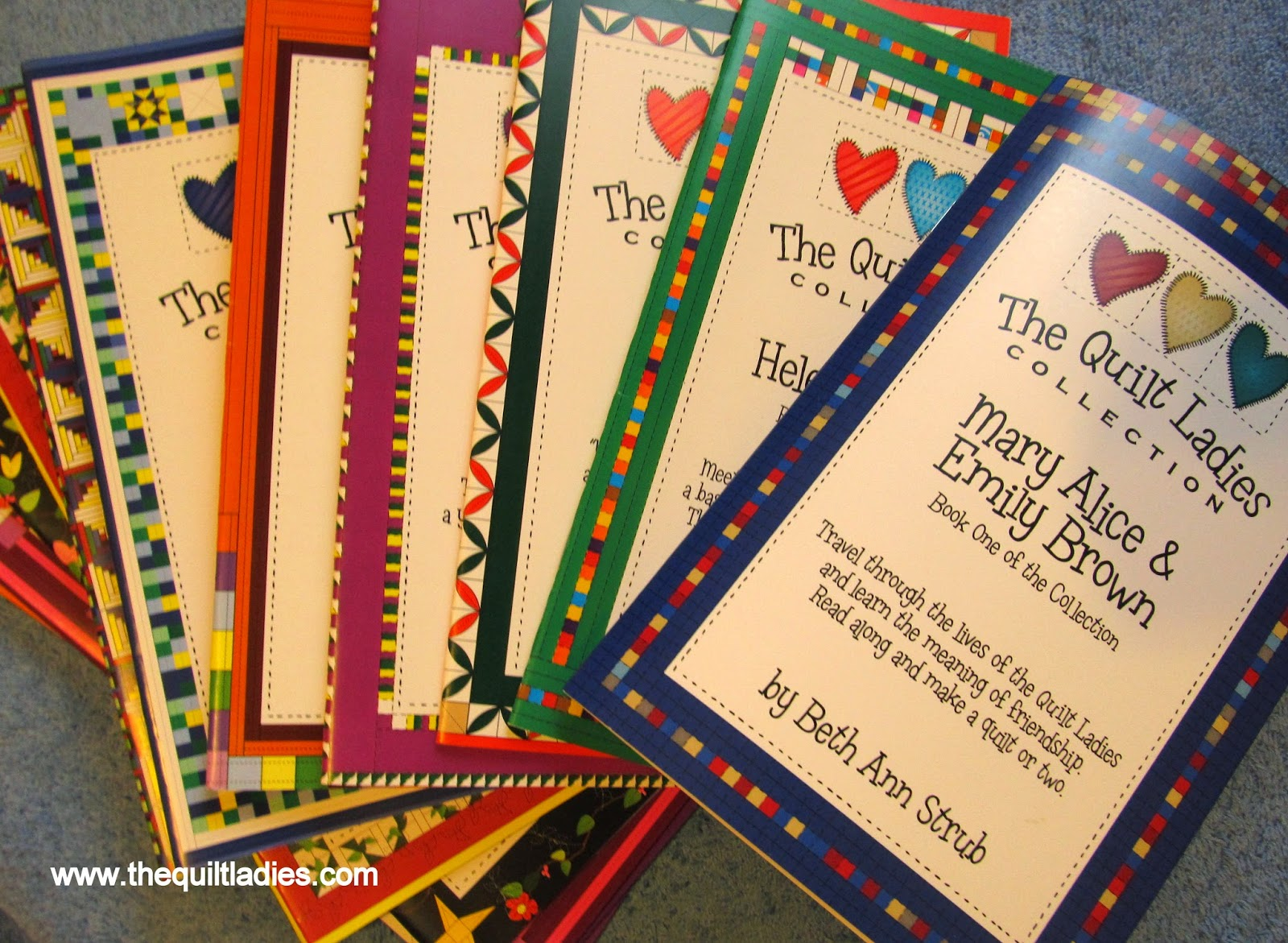 The Quilt Ladies Book Collection in Print, by Beth Ann Strub