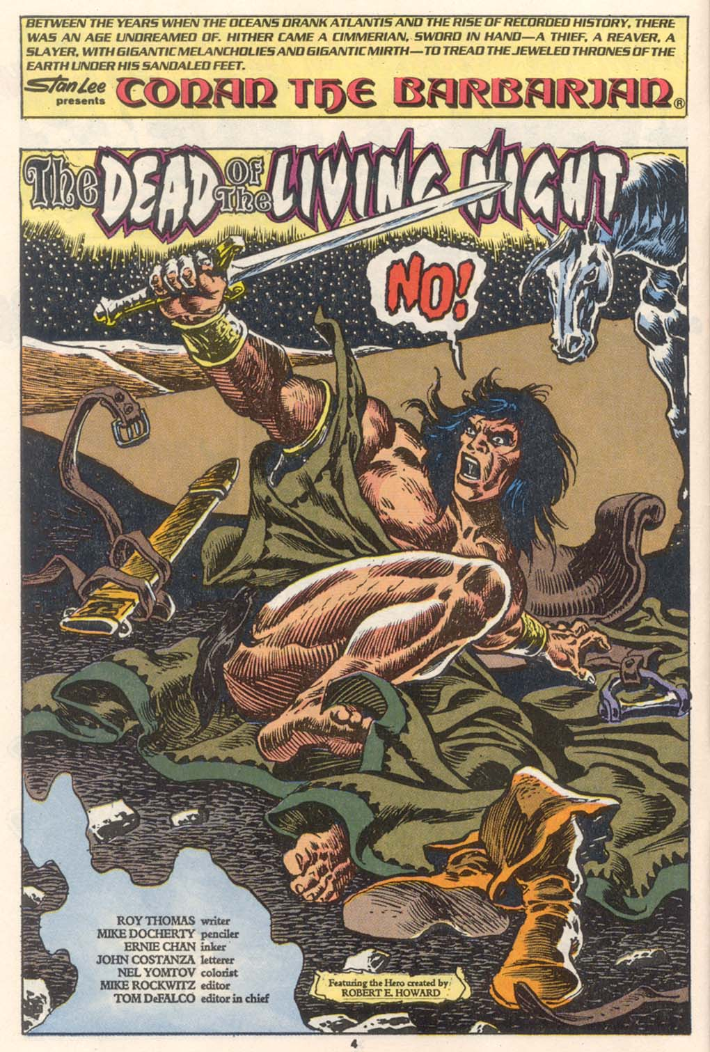 Conan the Barbarian (1970) Issue #252 #264 - English 5