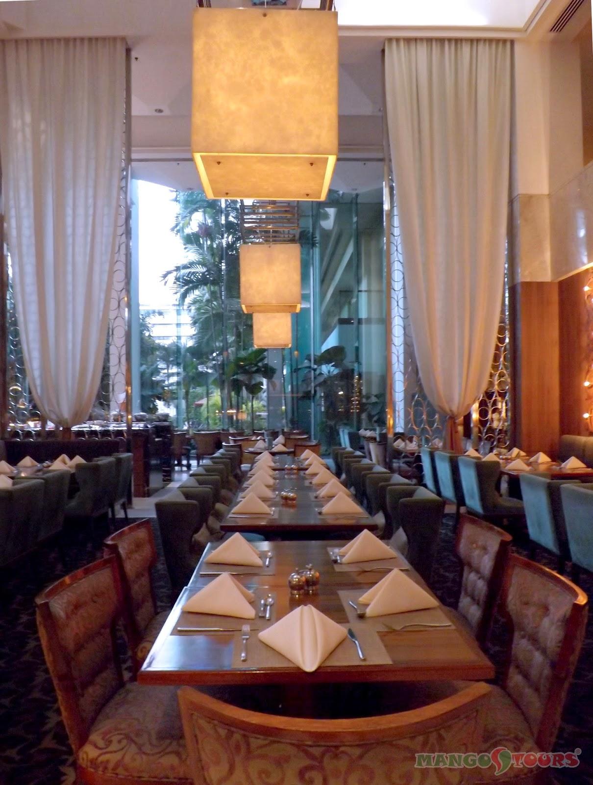 Mango Tours Diamond Hotel Philippines Corniche Restaurant