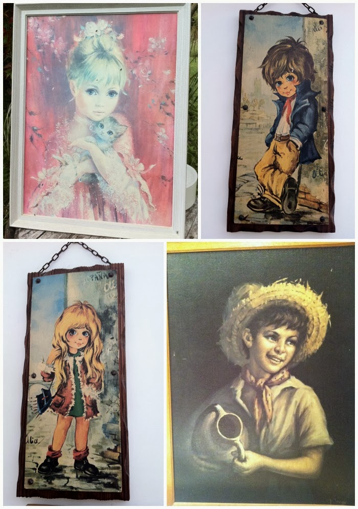 Vintage Big Eye Art Collection Geekisnewchic_9