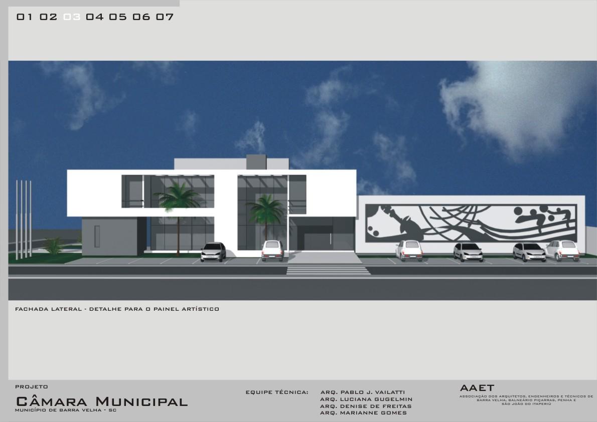 Conhecido Câmara Municipal de Barra Velha - Arquitetura e Obra: Pranchas de  OT29