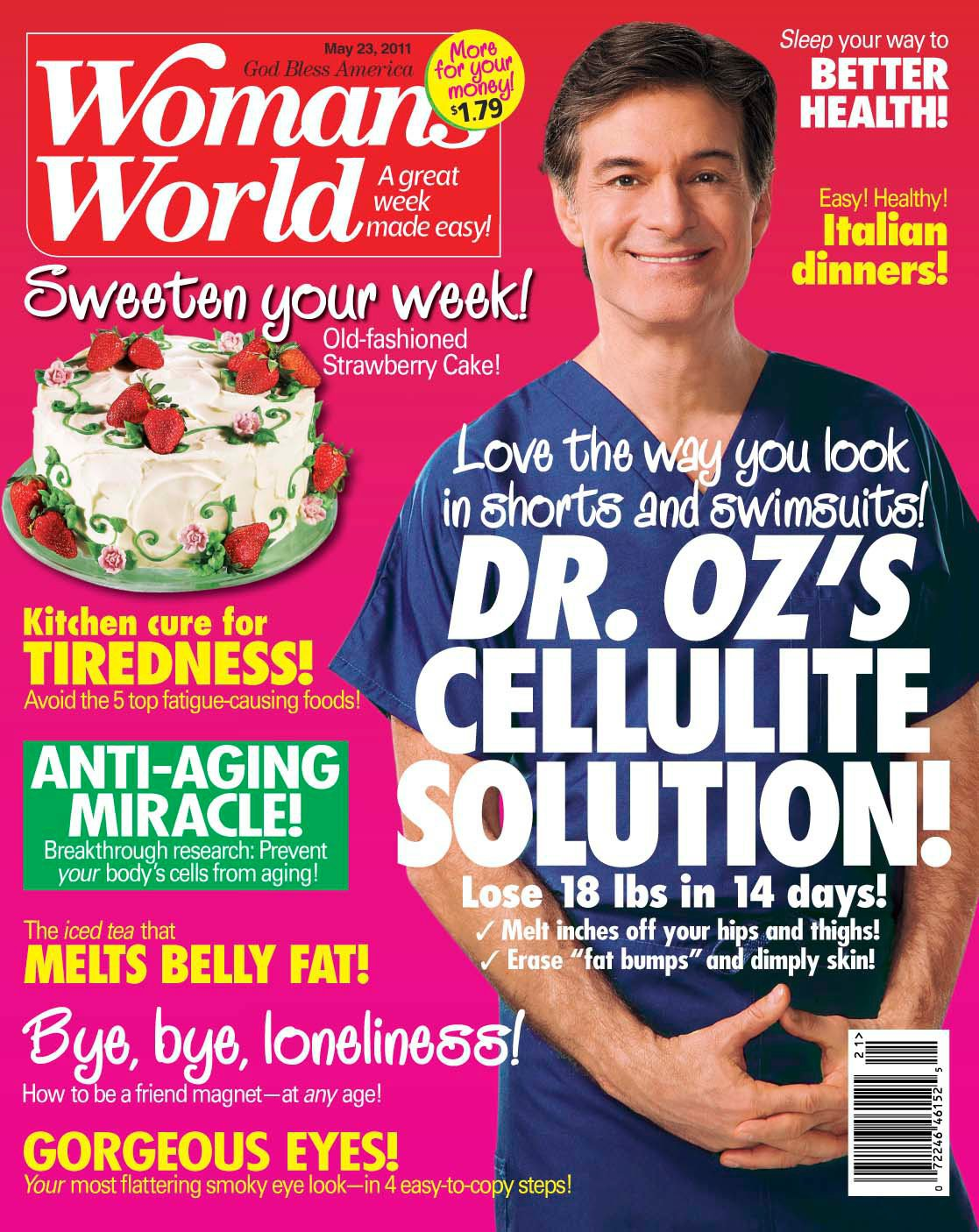 ... Features by Anders Ruff Custom Designs: Woman's World Magazine Press