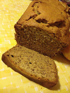 Banana Bread, First slice