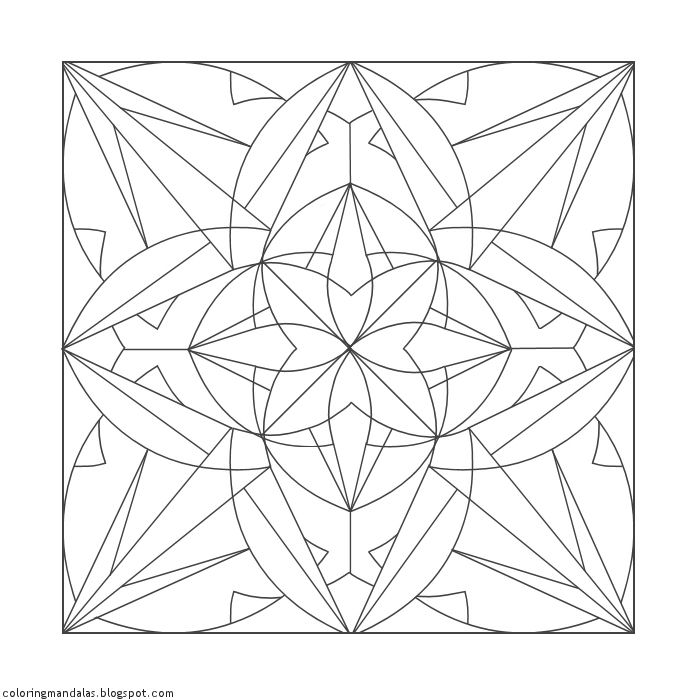 Coloring Mandalas 02 Vishudda