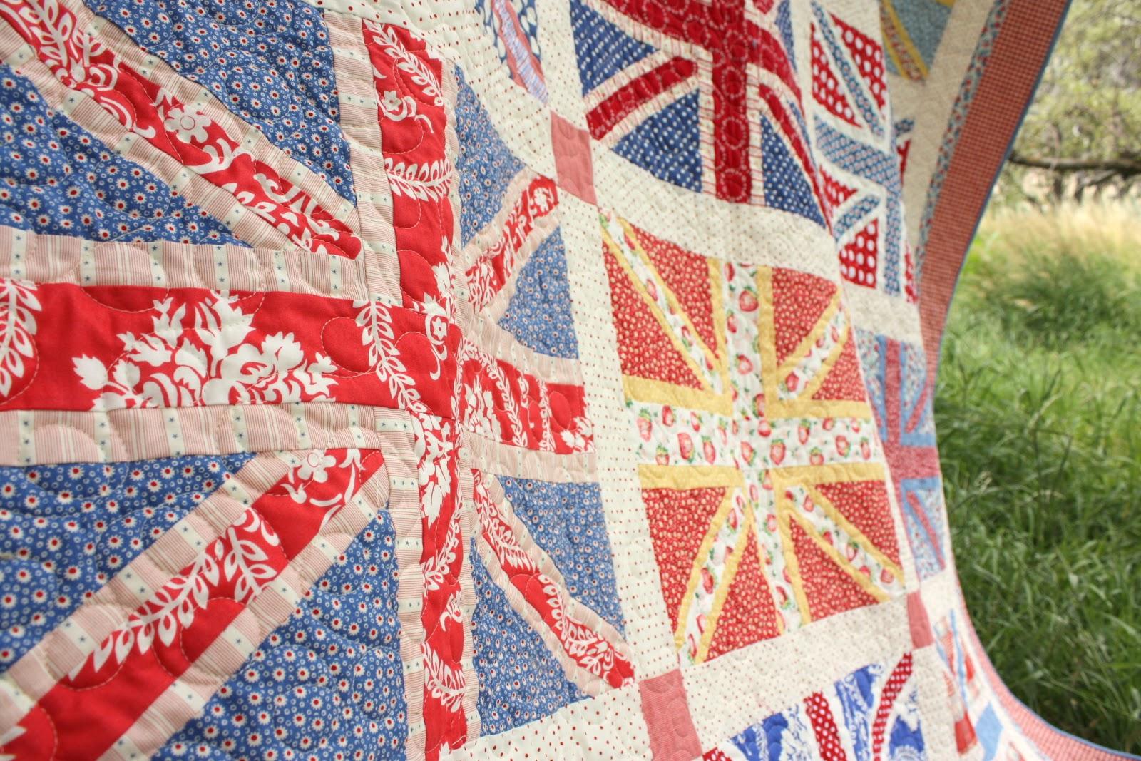 Union Jack Quilt Pattern