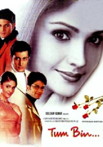 Poster Of Bollywood Movie Tum Bin (2001) 300MB Compressed Small Size Pc Movie Free Download worldfree4u.com