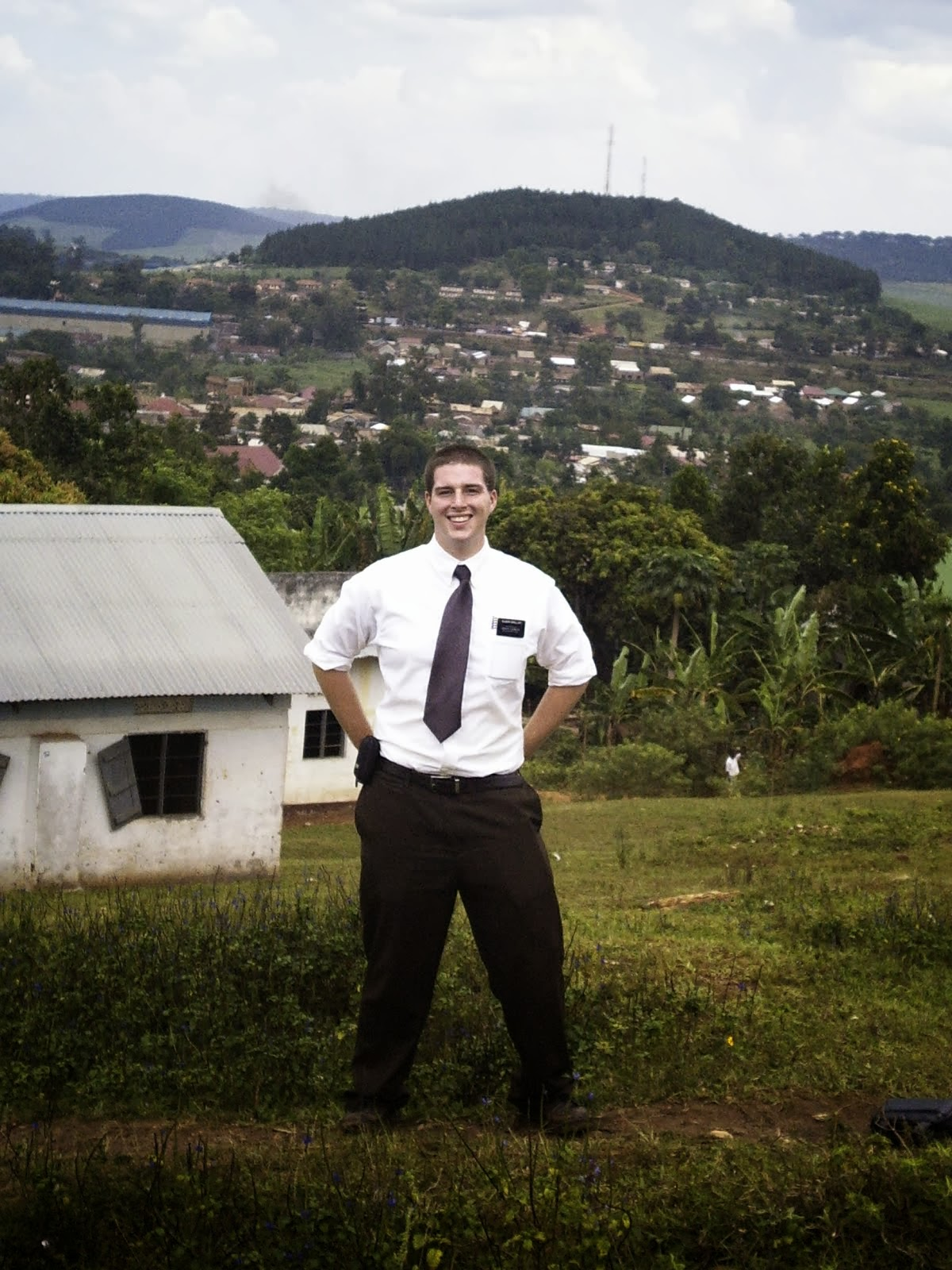 Elder Grilliot in Uganda