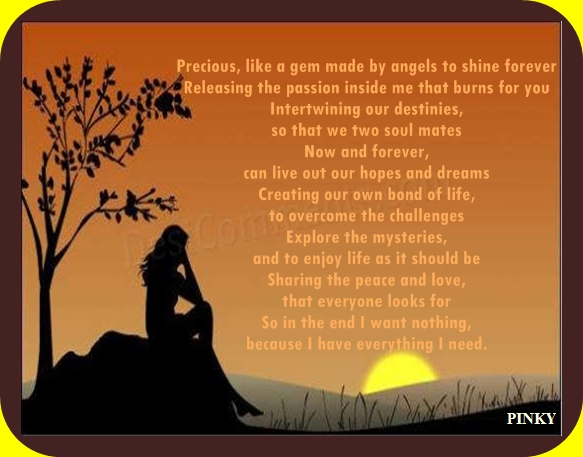 Passionate love poem ~ Pinkys World Of Creation
