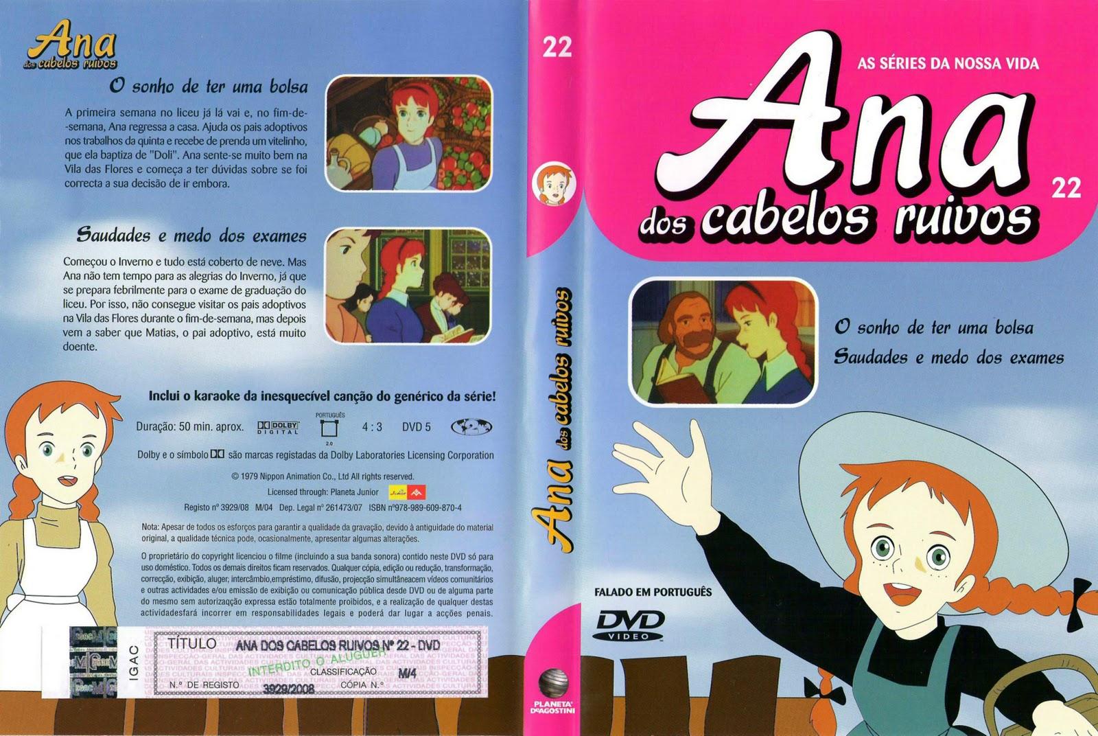 Ana dos Cabelos Ruivos Vol.1 A 25  PT-PT Ana+dos+Cabelos+Ruivos+Vol.22%28capa%29
