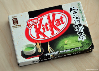 Nestle Japan Japanese Green Tea Kit Kat
