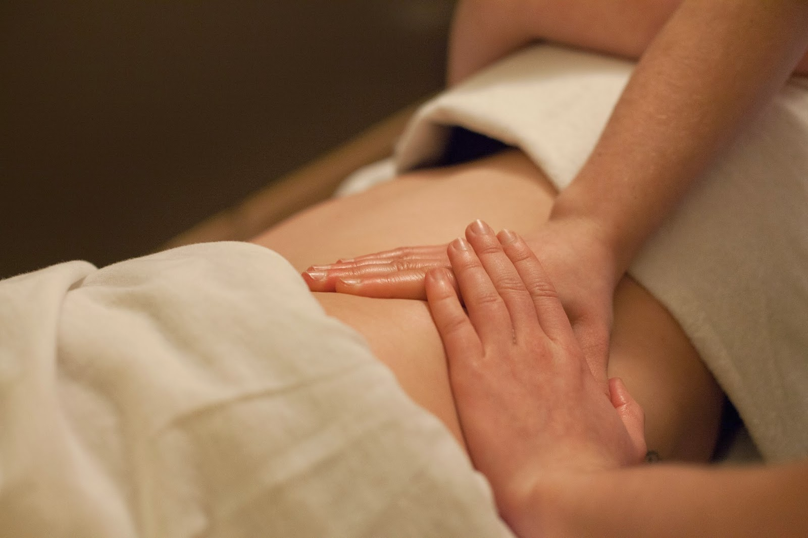 land body massage therapy with