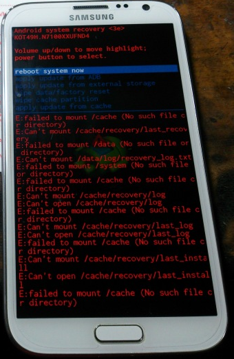 How to Fix E: Cant mount /sdcard/ Issue on Android