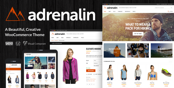download adrenalin themeforest
