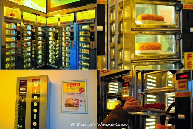 Patatje, Croquettes at FEBO