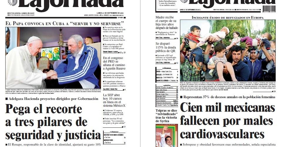 Noticias Guerrer S Sme Peri Dicos La Jornada Pega El