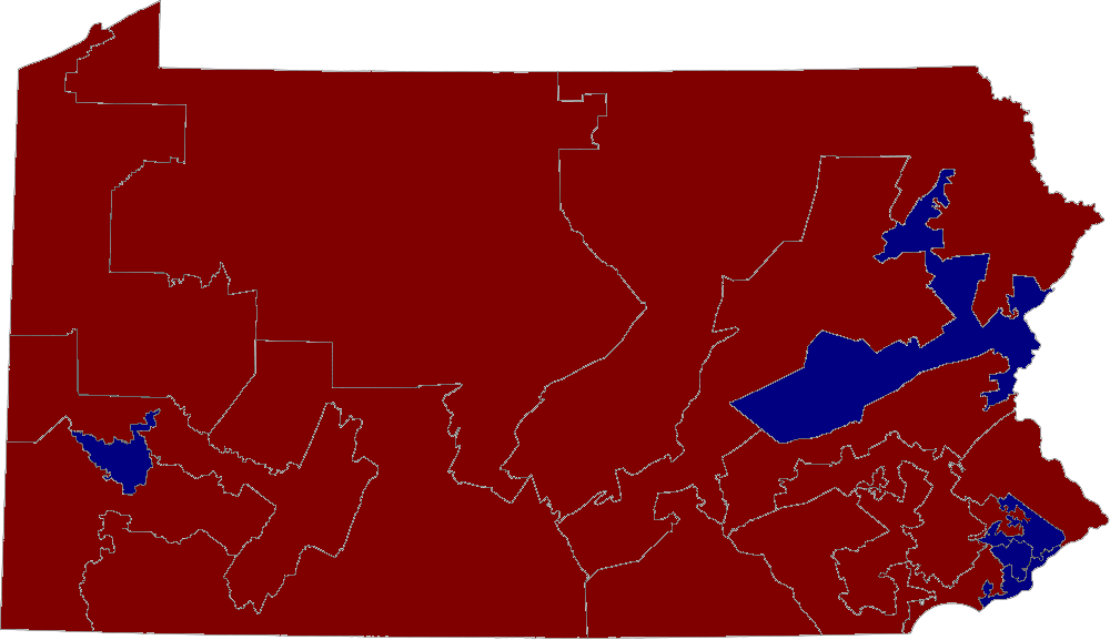 Pennsylvania House District Map Images