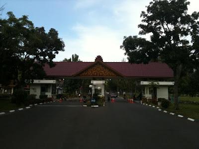 Gerbang Masuk Komplek PT PIM