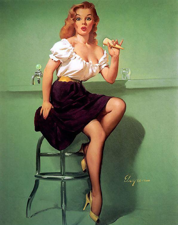 Gil Elvgren 1950s Pin Up Girls 2