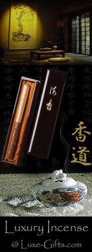 Luxury Incense @ Luxe-Gifts.com
