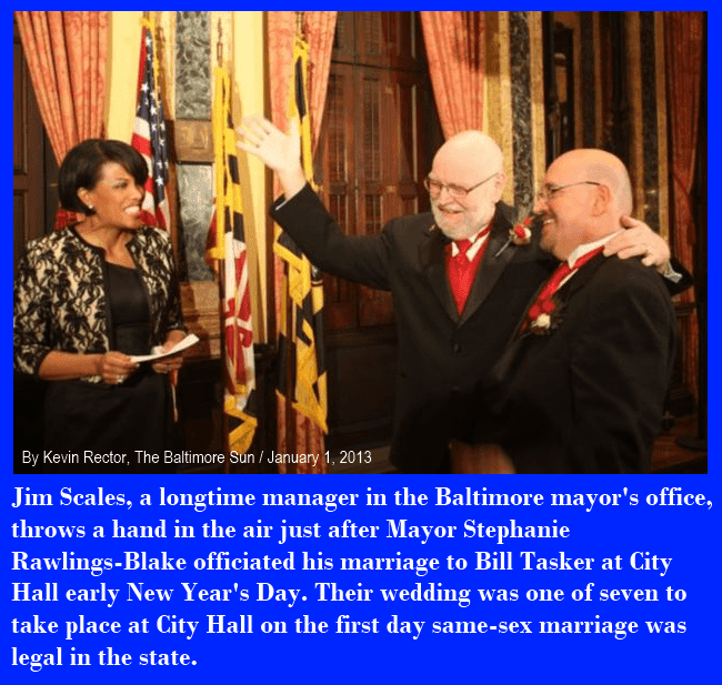 Baltimore Mayor Stephanie Rawlings-Blake Marries Gay City Employee Jan. 1, 2013