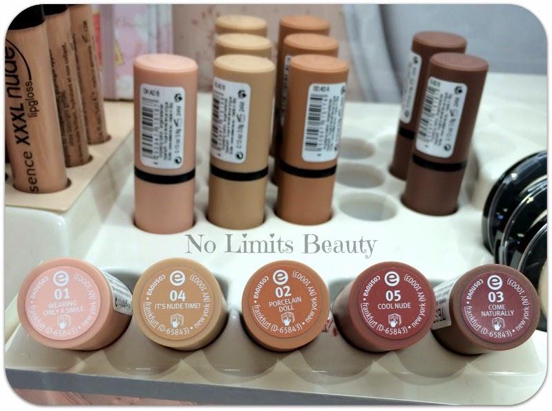 I Love Nude de Essence - Nude Longlasting Lipstick