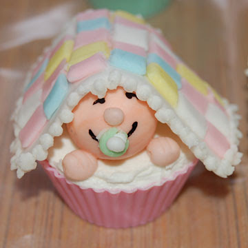 Cupcakes in creatividades baby shower cupcakes ideas - Girl baby shower cupcake ideas ...