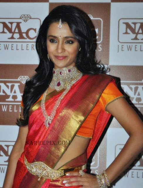 Trsiha-silk-saree-NAC-Jewellers-Fashion-show