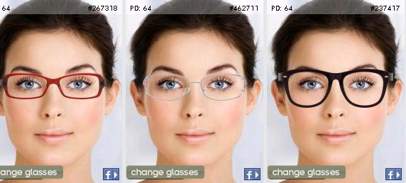 try on all frames and share it on facebookask your friends which frame looks the best on your facefor me it does not get better than this - Zenni Frames
