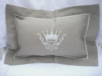 Crown Pillow Home Decor