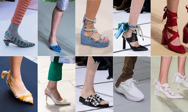 Trend scarpe P/E 2018